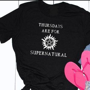 Supernatural Fangirl Tee